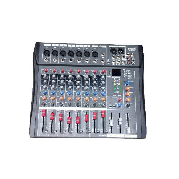 Yamaha 8 Channel Mixer With Bluetooth, Effect And USB