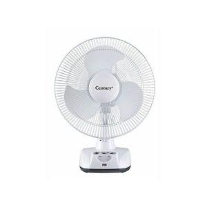 Century 12-Inch Rechargeable Table Fan