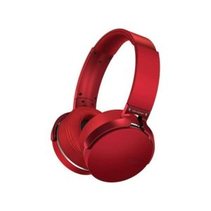 Sony Wireless Bluetooth Headset+Free Audio Cable Red