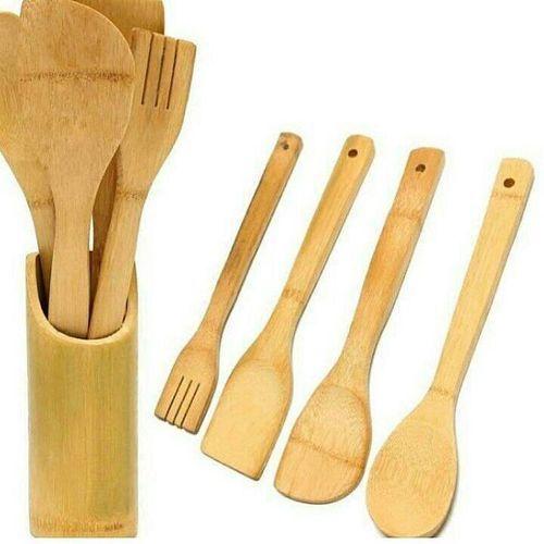 Wooden Kitchen Spoon Set
