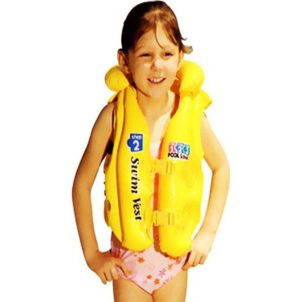 Intex Deluxe Swim Vest Pool School Step