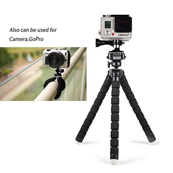 Selfie Tripod With Bluetooth Remote Control